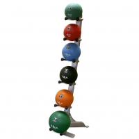 Flooring Stand 6 Bowling Balls Sport Equipment Racks For Bowling Alley Manufactures