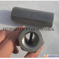 OEM Formwork Tie Rod System , Steel Hex Nuts Stop Pin For Threadbar Connection Manufactures