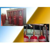 Heptafluoropropane 5.6Mpa Fm200 Gas Suppression System With Pipeline Manufactures