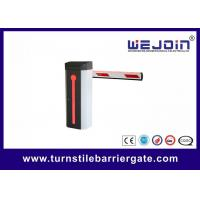 Manual Release Smart RFID Card Reader Access Boom Barrier Gate For Toll Gate System Manufactures