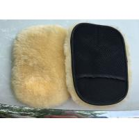 Extra Thick Single Sided Car Polishing Mitt Gentle Surface Without Washing Marks Manufactures