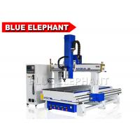 Blue Elephant 4 Axis CNC Router Machine Auto Tool Changer Wood Engraving and Carving Machine Manufactures