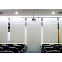Top Hung Portable Wall Partitions , Portable Office Partition Walls Modular Manufactures