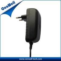 eu plug cenwell ac dc 24v 1a output 24v power adapter Manufactures