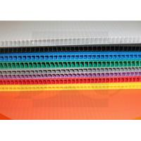 Anti - Static Flame Retardant Corrugated Plastic Board Correx Sheet 2mm-7mm Manufactures