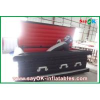 China Halloween Coffin Inflatable Halloween Party Decoration Led-Lighting on sale