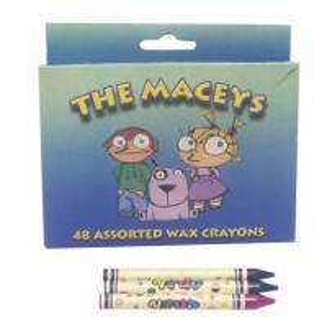 China The macerys 48 assorted wax crayons,assorted wax crayons crayolas on sale