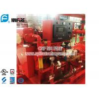 Red FM Approval 300 Hp Diesel Water Pump Engine Used In The Firefighting Manufactures