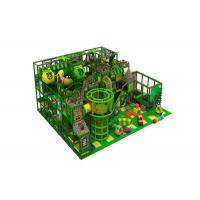 Commercial Indoor Jungle Gym Equipment / Kids Indoor Playset 90CBM Volume Manufactures