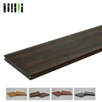 Microfiber Artificial Carbonized Strand Bamboo Flooring 18mm Thickness Manufactures