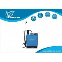 Blue high pressure Backpack Weed Sprayers for Kitchen gardens Manufactures
