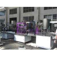 Linear Type Soft Drink Bottling Equipment 0.25L - 2.5L For Plastic Bottle Manufactures