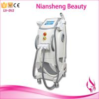 3 in 1 OPT SHR IPL Elight ND Yag laser hair tattoo pigment acne nevus removal machine Manufactures
