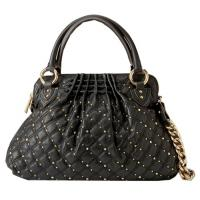 Characteristic  PU material  Ladies Handbags with rivets G5289 Manufactures