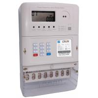 Ultrasonic Welded 3 Phase Electric Meter , 3 Element 4 Quadrant STS Prepayment Meter Manufactures