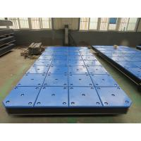 UHMW PE Sliding & Panel Rubber Marine Boat Fenders Dock Plate Manufactures
