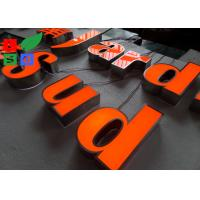 IP65 Waterproof LED Channel Letters , Neuture White 6500K Backlit Sign Letters Manufactures