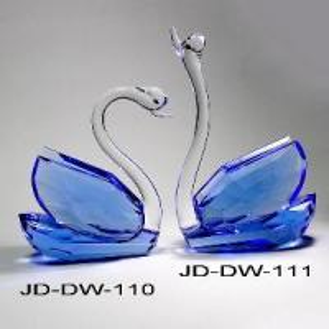 Wedding Gift Crystal Swan (JD-DW-110-111) Manufactures