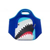 China Colorful Small Insulated Neoprene Lunch Tote Bag Cartoon Design For Kids School on sale