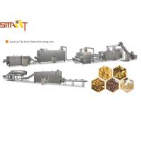 Fast Food Nutritional Corn Flakes Production Line , Small Corn Flakes Machine Manufactures