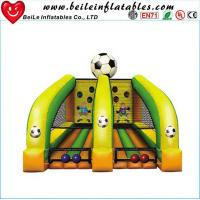 kids Football throwing games air soccer goal inflatable football goal Manufactures