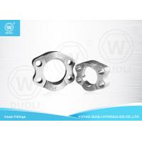 SAE J518 Split Flange Clamp Hydraulic Fittings High Pressure ISO 6162 Carbon Steel Manufactures