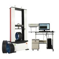 China AC220V 50HZ 100KN Tensile Mechanical Testing Equipment For Plastic Rubber on sale