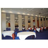 China 85 mm Thickness Banquet Hall Acoustic Operable Partition Walls Commercial Furniture on sale