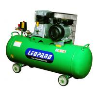 One Stage 3HP 100L Rotary Air Compressor Belt Driven With Aluminum Pump Head Manufactures