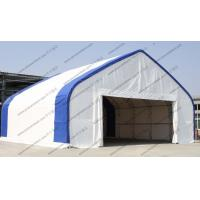Customized Aircraft Hangar Tent , Outdoor Airplane Tent For Temporary Army Manufactures