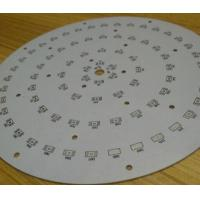 Single Side LED Light PCB Board Aluminum PCB Board For LED Lighting Manufactures