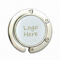 Contractible Handbag Hangers with Embedded Magnets, Measures 46 x 7mm Manufactures