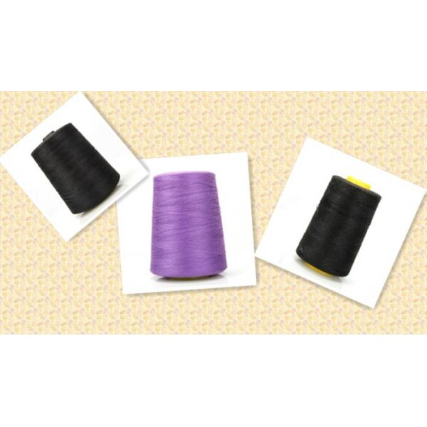 Made in high quality 100% spun polyester sewing thread/yarn
