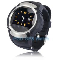 China New Multi - Function GSM Quad Personal Phone Tracker SOS GPS Watch PG66-G on sale