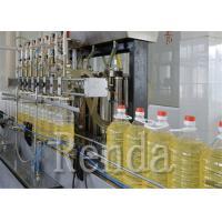 China 110V 220V 380V Automatic Bottle  Oil Filling Machine SUS304 1000 - 12000 BPH for sale