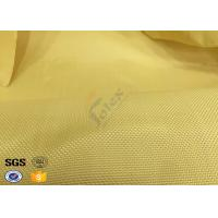China Fire Resistant Bulletproof Plain Kevlar Aramid Fabric For Aerospace , Chemical on sale