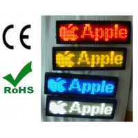 China Global language support  NO need USB driverPortable LED scrolling message tags on sale