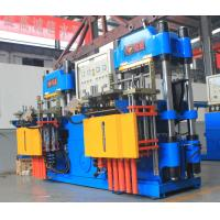 China Customized Plate Vulcanizing Equipment Produce Silicone Bracelet With Red And Blue Color on sale