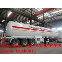 59600 liters ASME Material tri-axle Gas delivery trailer for sale, lpp trailer for sale, 25tons bulk propan gas trailer Manufactures