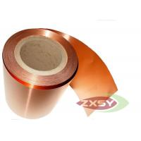 Adhesive Rolled Insulated Professional Copper Foil Roll Polished Manufactures