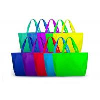 Reusable PP Non Woven Bags Eco - Friendly Heat Sealing Type For Women Shopping Manufactures
