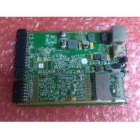 6 Layer industrial control pcb assembly FR4 Green solder mask with SD card connectors BGA chips Manufactures