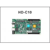 HD-C10 rgb control card/ Asynchronous cascading controller/USB port full color controller Manufactures