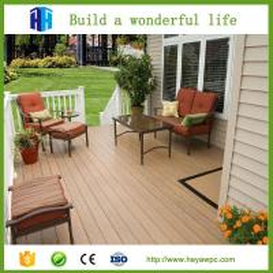 HEYA factory price wpc vinyl flooring outdoor product decking list Manufactures