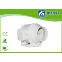 China 100mm Hydroponics Inline Fan , Hydroponics inline duct fan grow room air extractor on sale