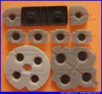 WiiU GamePad Conductive Rubber Button WiiU repair parts Manufactures