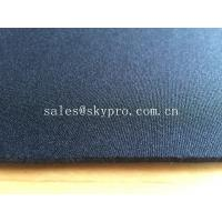 Stretchable nylon jerey spandex thick neoprene fabric with one or both sides coating Manufactures
