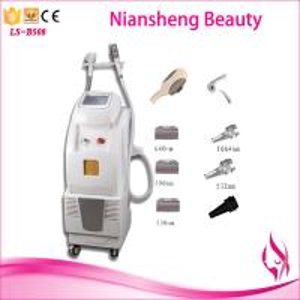 OEM / ODM E-light ipl nd yag laser multifunction machine/ Professional shr ipl laser hair Manufactures