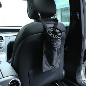 China Back seat Hanging Trash Litter Leakproof washable Can car garbage bag on sale