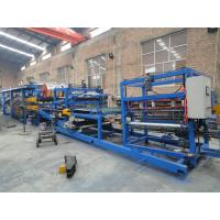 China Rockwool Fireproof Sandwich Panel Production Line With 80mm-150mm Thickness on sale